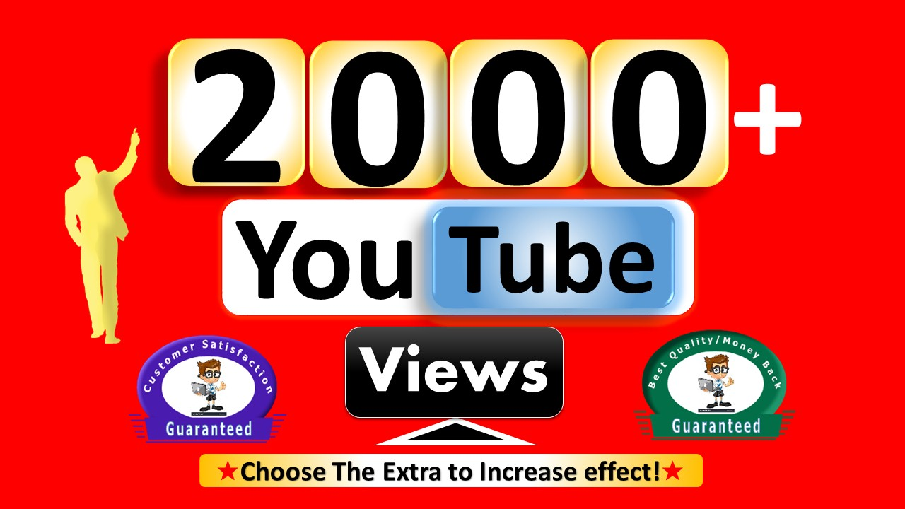 Instant Start 2000 to 3000 Windows Desktop Watch Page Views - HR Video Quality Non Drop Guaranteed