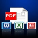 Convert your files to PDF and  Word