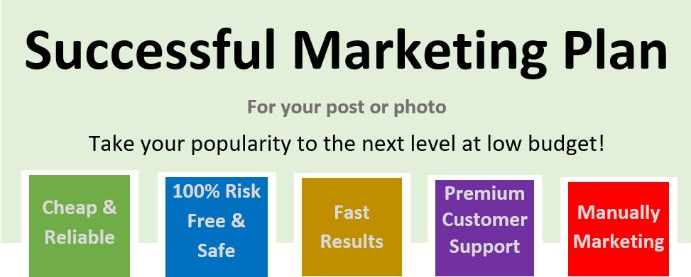 Successful Marketing Plan - Pack 100