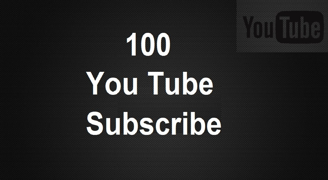 Get 100+ Real Active YouTube Channel Subscribes