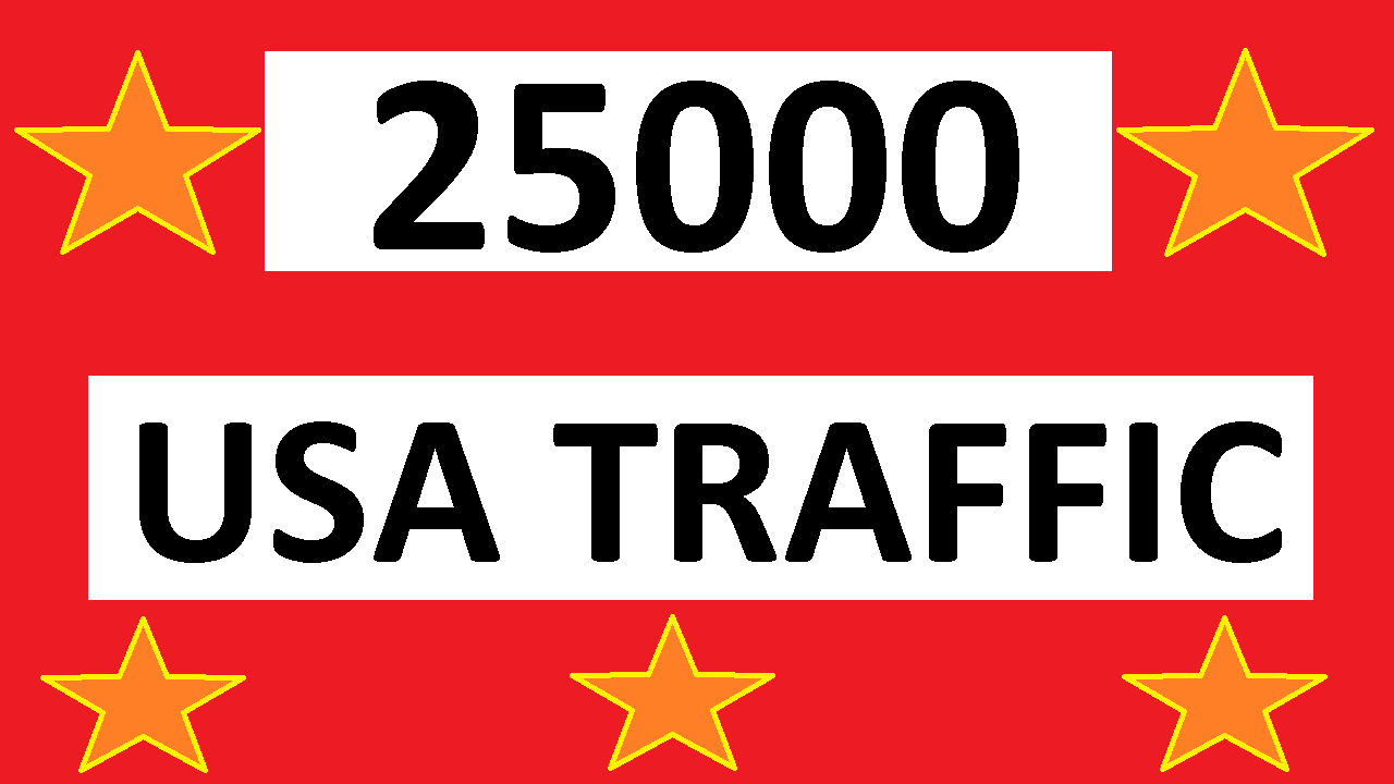 deliver 25000 safe usa web traffic real usa traffic