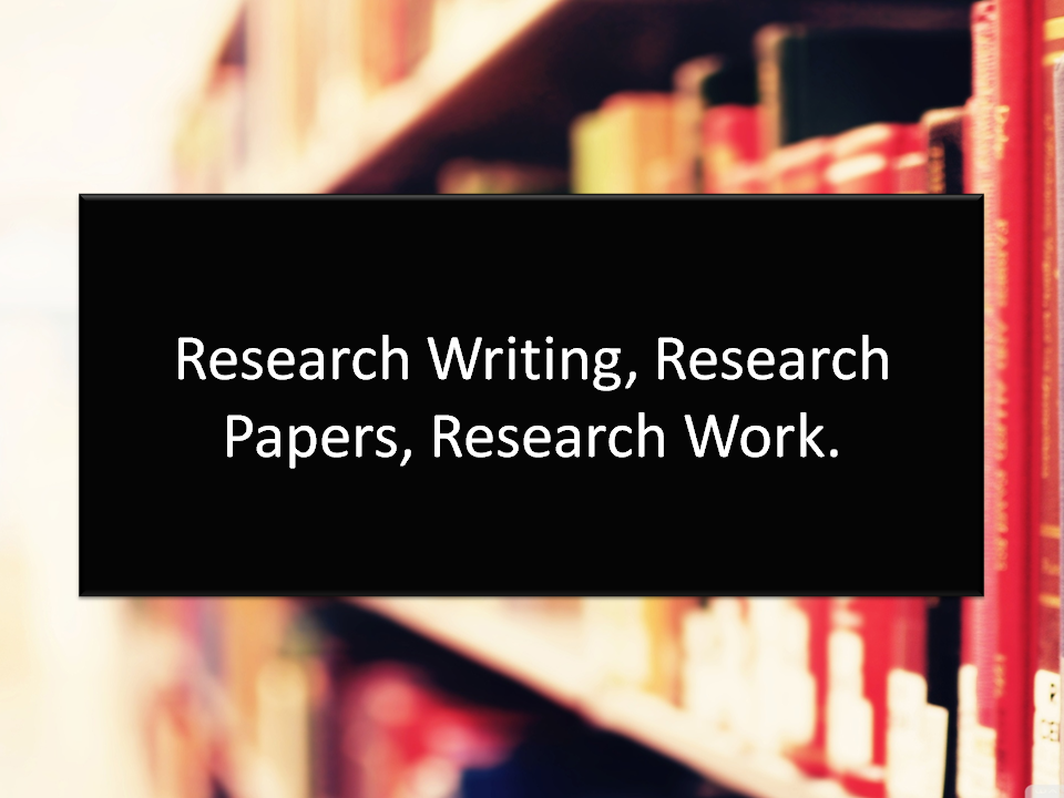 Research Papers for you