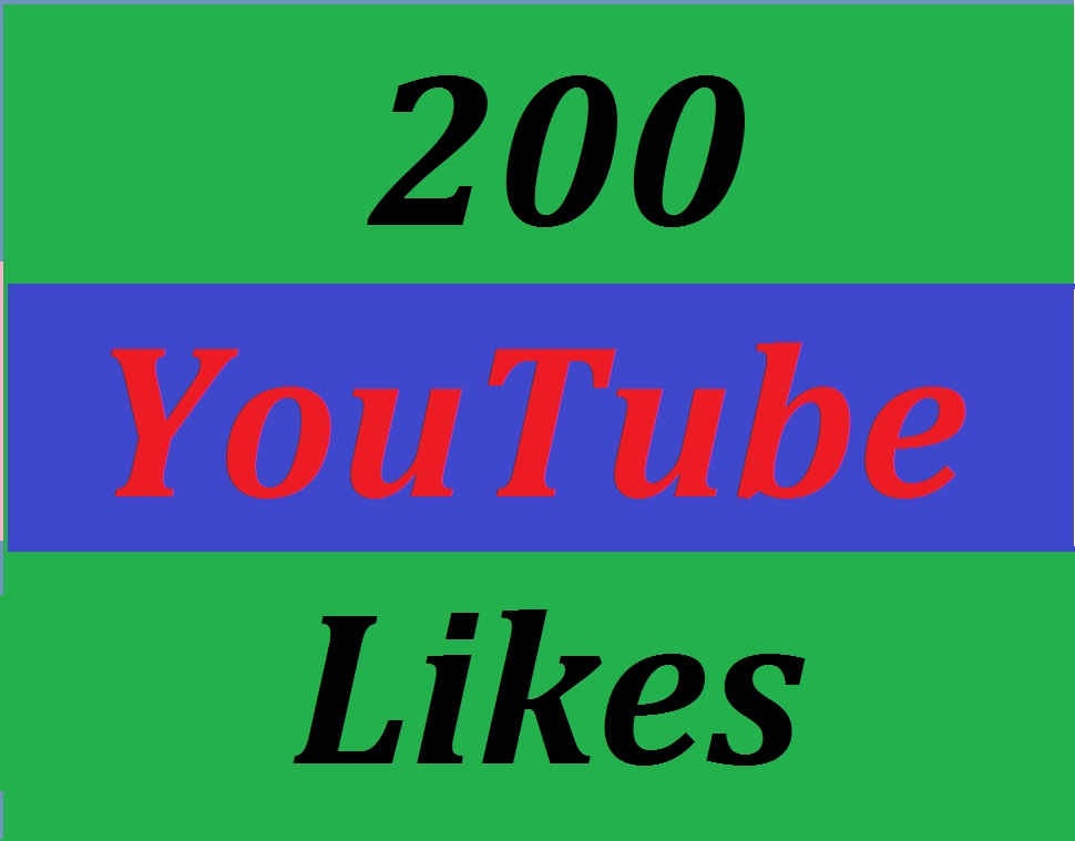 200 YouTube Video Real Likes