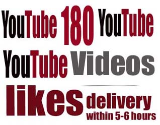 instant 230 youtube videos likes delivery within 5-6hours