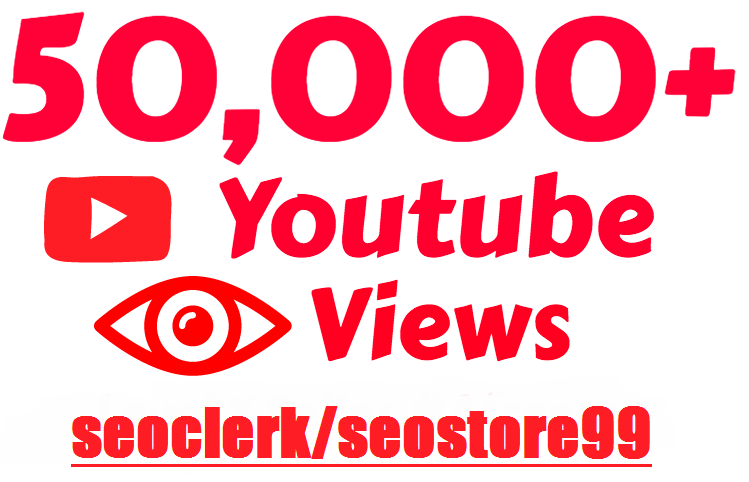 Super Fast 50,000+ to 100k+ Y-o-u-t-u-b-e HQ Vie.w during updating period start 24 to 72 hours