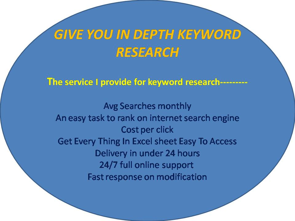 give you in depth keyword research