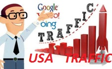 Drive  USA Keyword Targeted, Organic Traffic