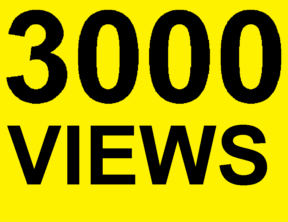 3000 Natural High Retention Youtube Views Real Traffic