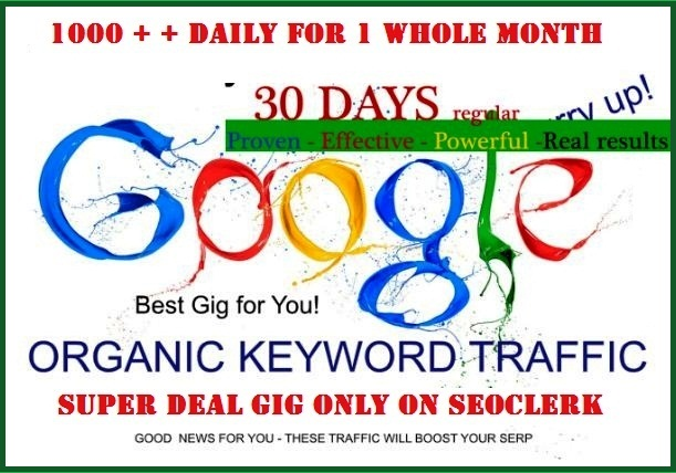 Keyword Traffic - Google Search Organic Traffic - Up ...
