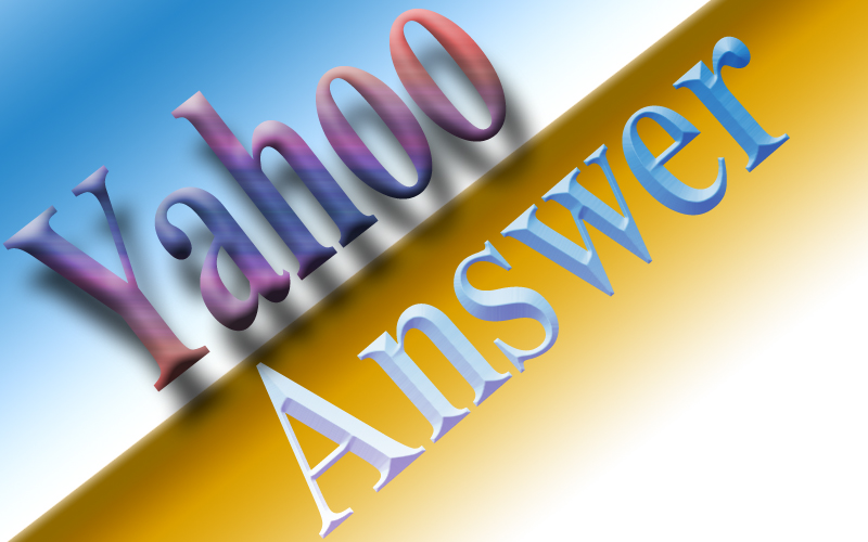 20+  Yahoo Answer with your website & keyword.