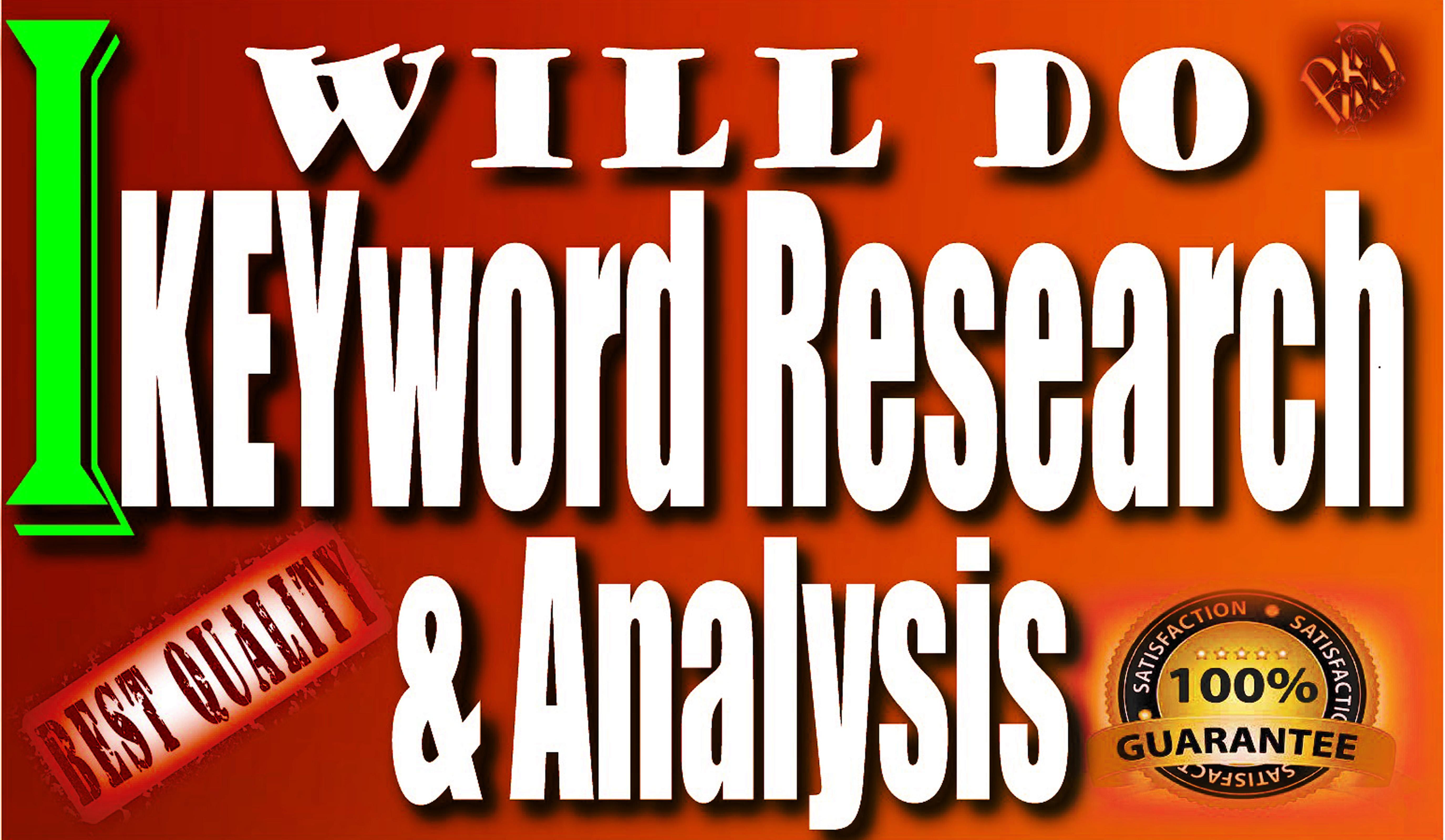 in depth SEO Keyword Research