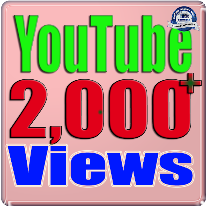 Add 2000+ Views and 100 Likes YouTube Safe & Non Drop Only