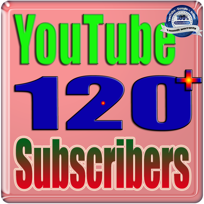 We Will Add 120+ YouTube Subscribers or Likes or Views Real Safe & Non Drop and Fast
