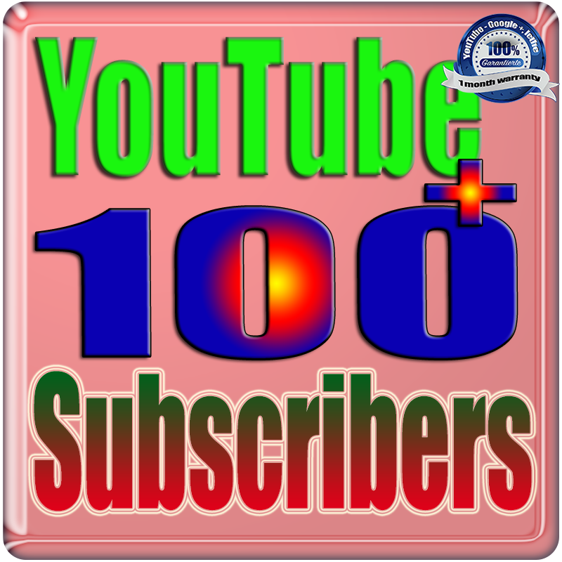 We Will Add 100+ YouTube Subscribers or Likes or Views Real Safe & Non Drop and Fast