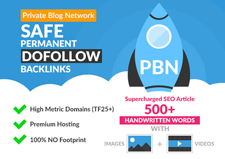 40 Permanent PBN High Quality TF, CF, DA, PA Backlink
