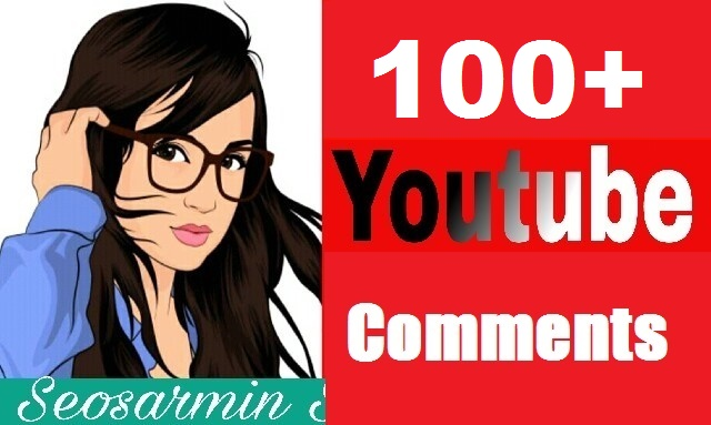 Safe 100+You Tube Custom Comments Real Profile And Non Drop Guaranteed Just