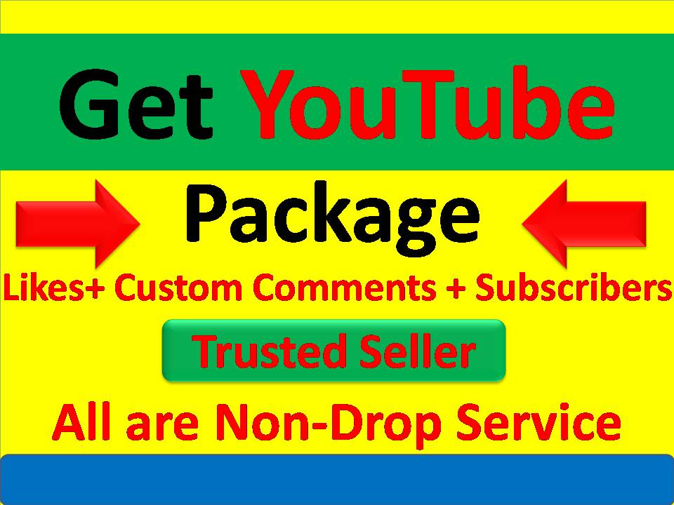20 Custom Comments + 20 Likes or 30+YouTube Real Subscribers