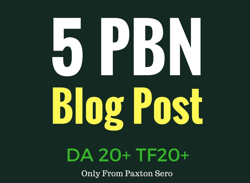 Get 5 HQ PBN Blog post DA15+ TF15+ CF15+ building services