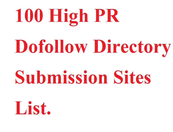 GET INSTANT TOP 100 DIRECTORY LIST