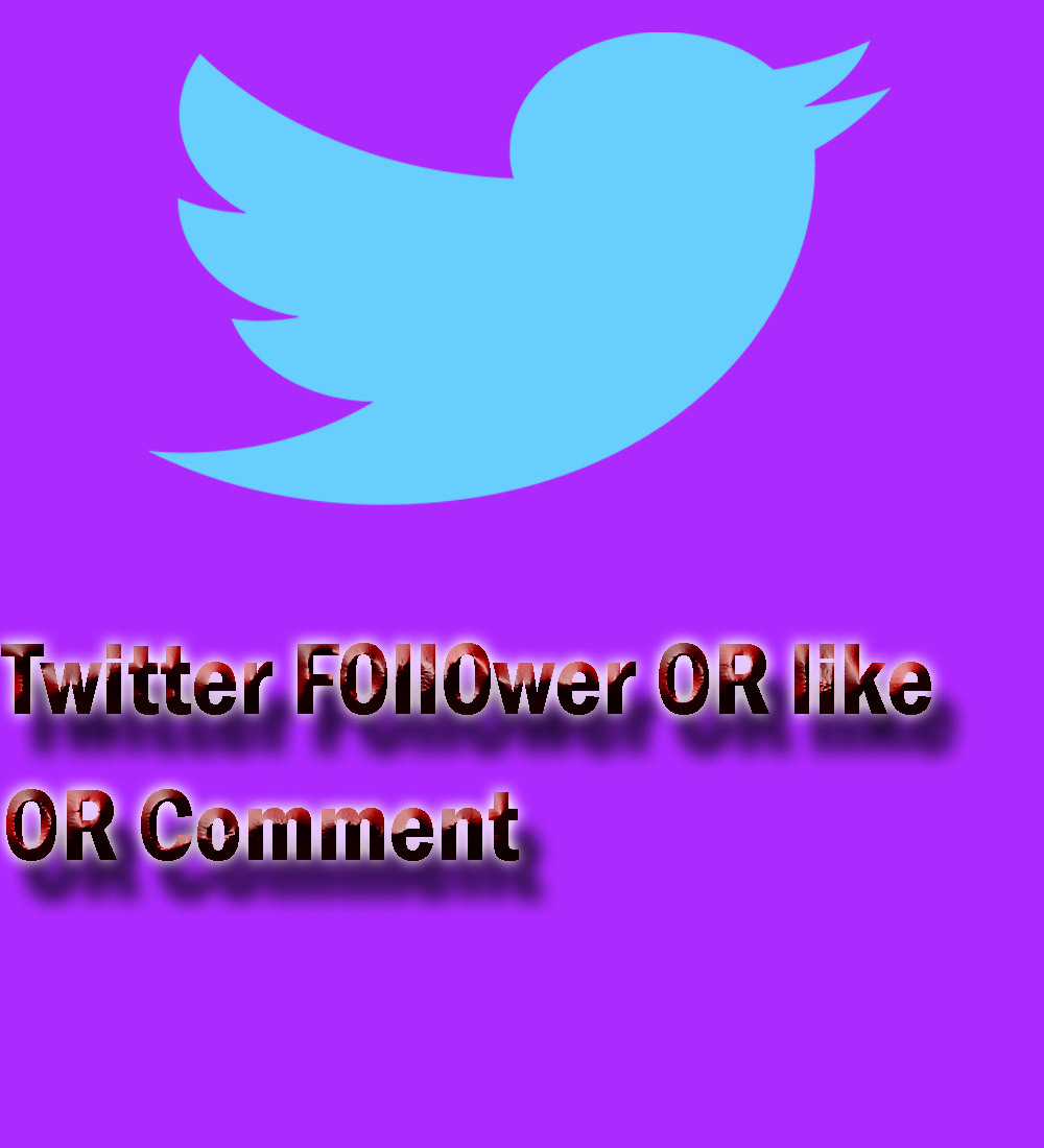 Get you 1,000 HQ twitter Instant Real & Active f0ll0wer OR 800 re-tweets OR 800 favorites instant