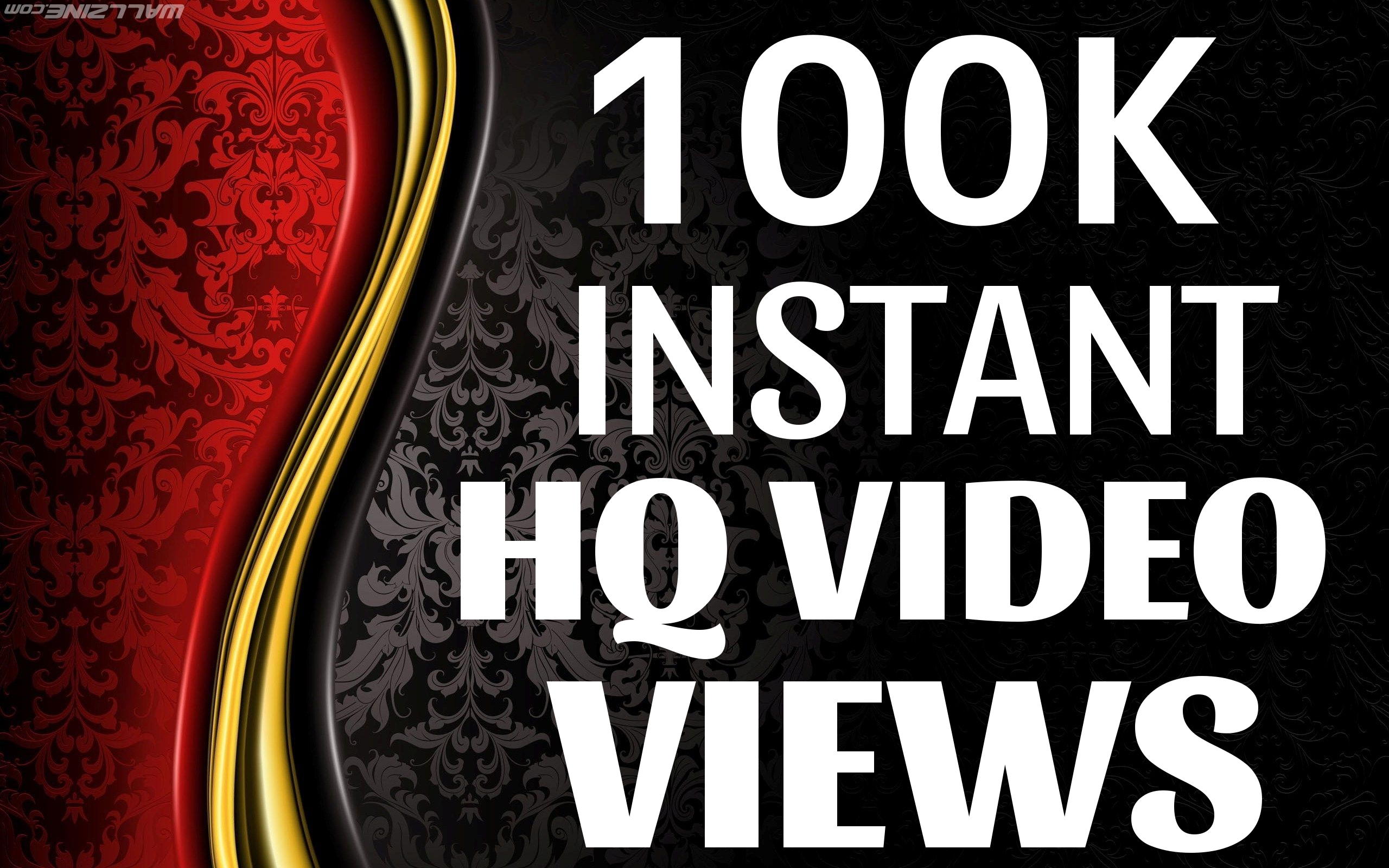SUPER INSTANT 100000+ HQ WorldWide VIEWS FOR SOCIAL MEDIA POST