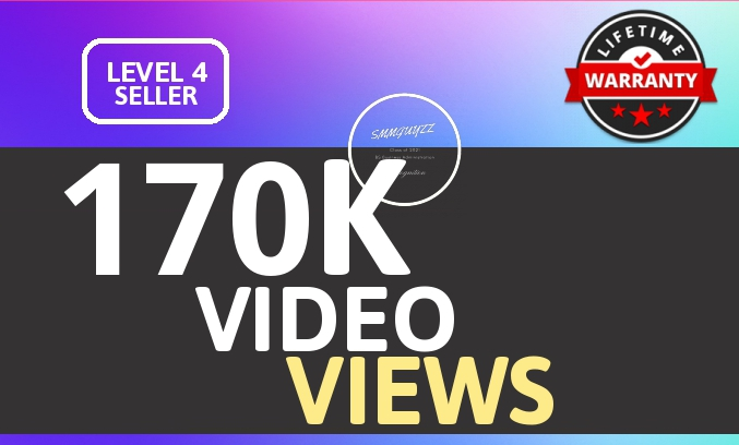 SUPER INSTANT 170000+ HQ WorldWide VIEWS FOR SOCIAL MEDIA POST