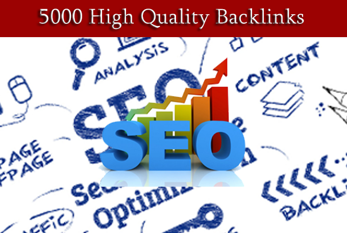 Build 5000 High Quality Backlinks