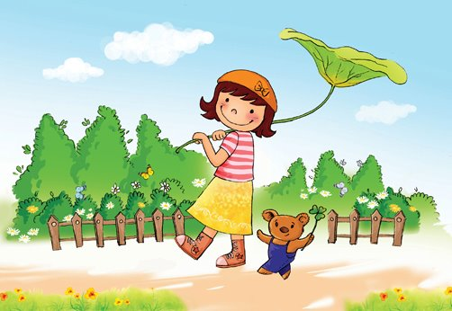 draw Childrens Book illustrations for you