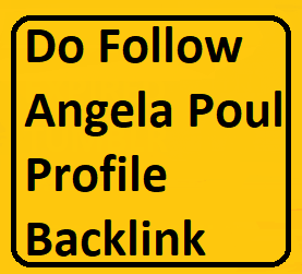 Manually Do 25+ PR9 to PR6 Angela Poul Profile Backlinks For website/blog/youtube video