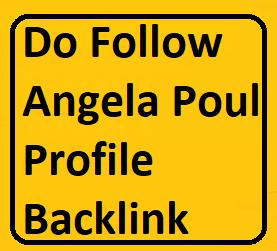 Manually Do 25+ PR9 to PR5 Angela Poul Profile Backlinks For website/blog/youtube video