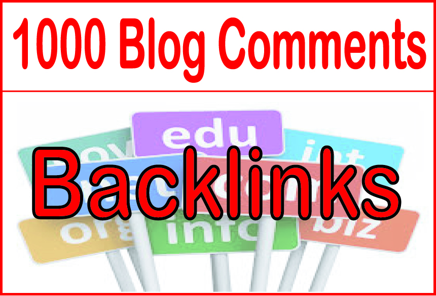 Create 1000 Blog Comment High Metrics Backlinks