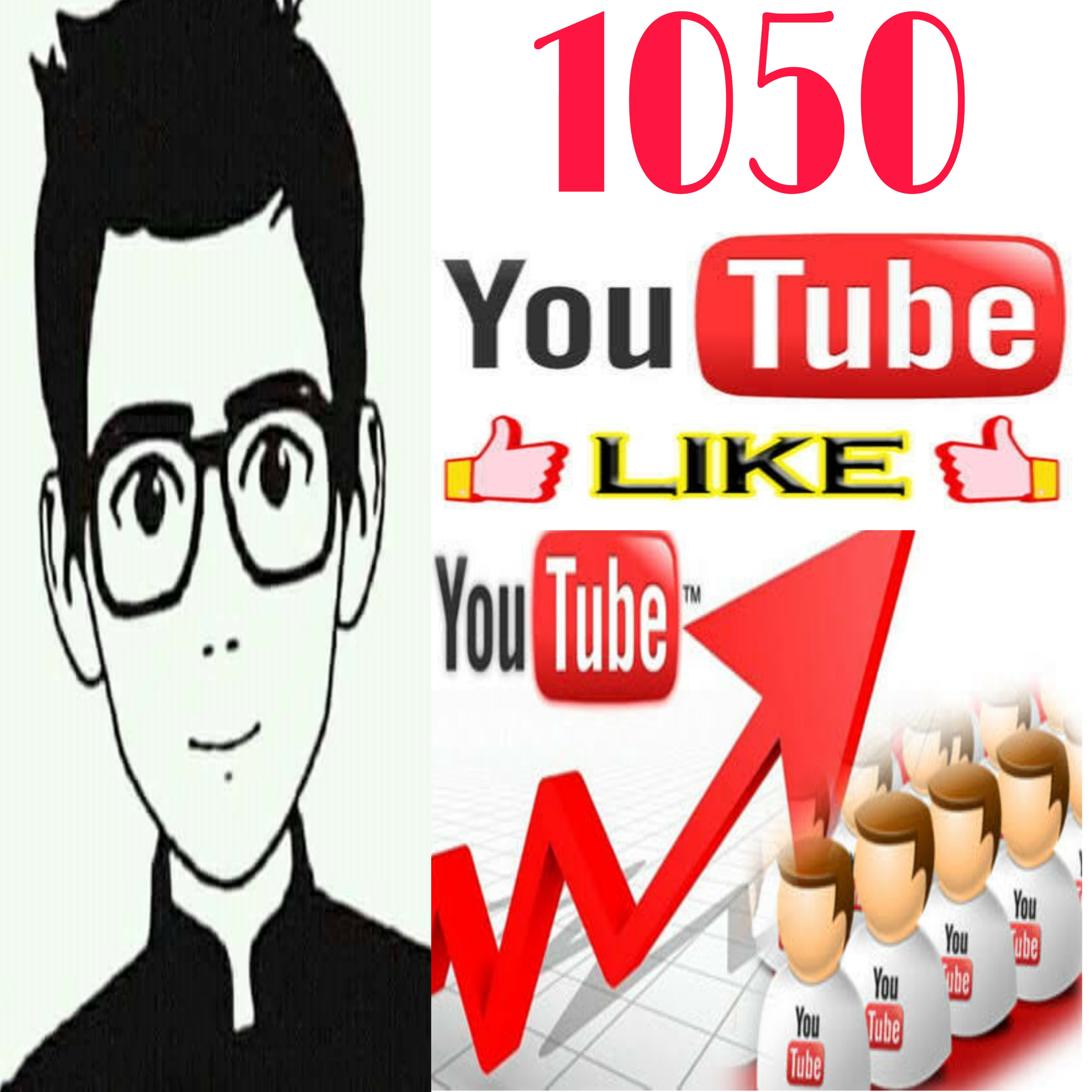 I provide 1050 high quality  likes on your video  non drop super fast in 2-4 hours