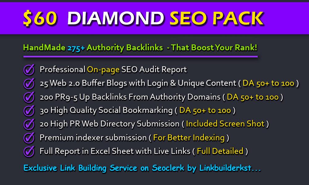 30 Authority SEO Backlinks - Dofollow With Anchor Text