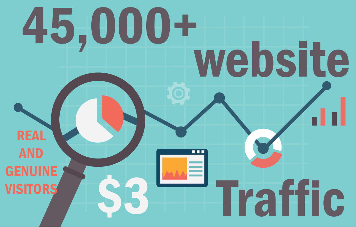 45,000+ keyword targeted traffic from google