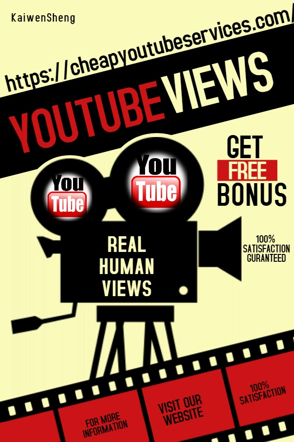 SUPER FAST 1200-3000 NONDROP YOUTUBE VIDEO VIEWS AND 400 NONDROP YOUTUBE LIKES