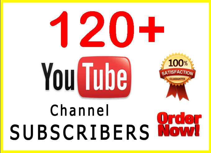 120+ SUPER FAST Youtube subs Within 24 hours