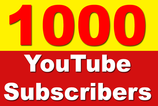 1000+ SUPER FAST Youtube subs Within 24 hours