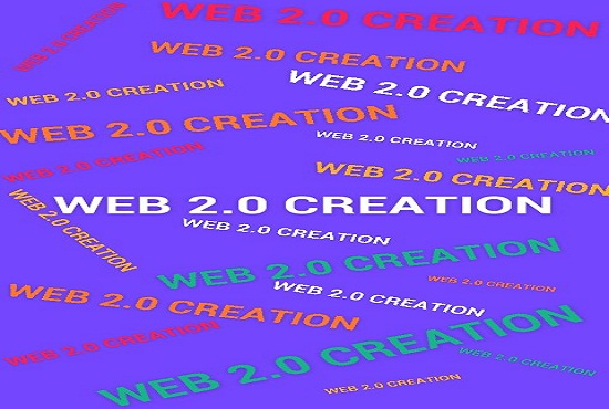 50 web2.0 Creation manually to Jump your site with high AR DA PA PR MR