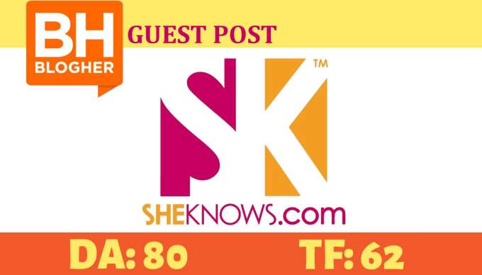 Publish a guest post on Blogher family site Sheknows