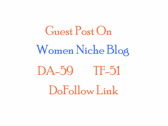 publish guest post on Pure Women niche blog