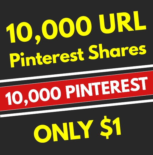 10,000 High Quality PR10 Pinterest Web Pin Share Social Signals - SEO GOOGLE RANKING FACTOR