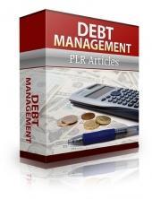 give 43 Debt Management PLR Articles