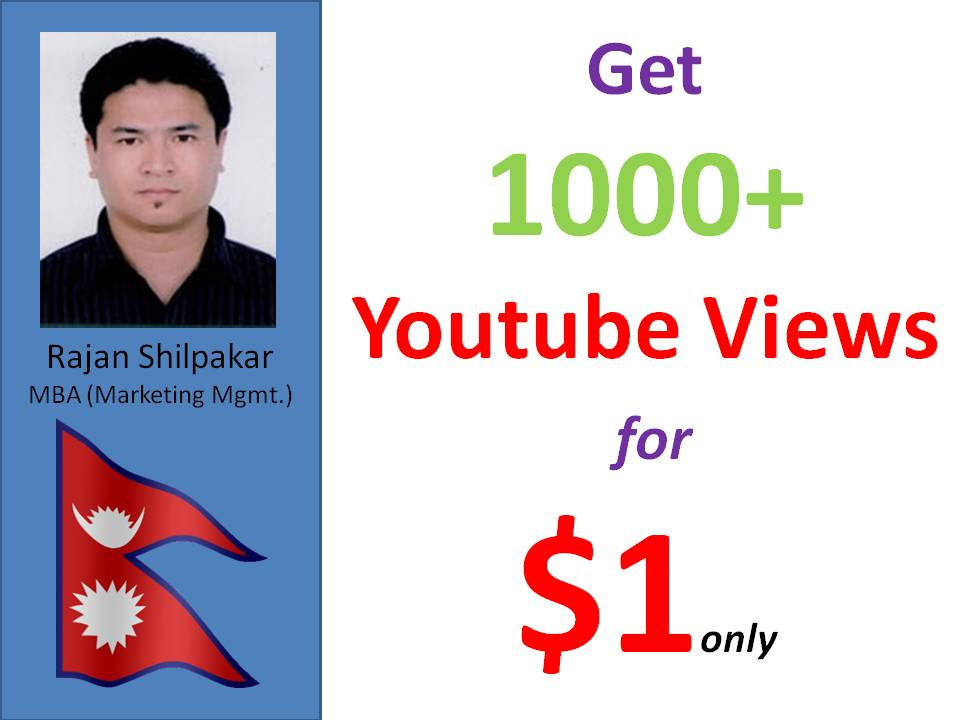 Get 2000 - 2500 U-tube Promotion from worldwide