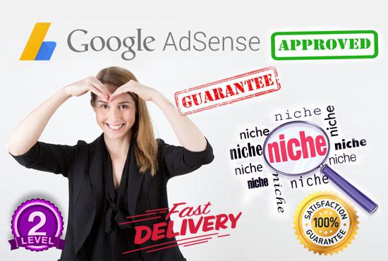 design a adsense approval guaranteed website