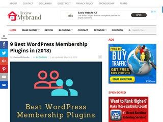 Mybrandreview Sponsored Blog Review