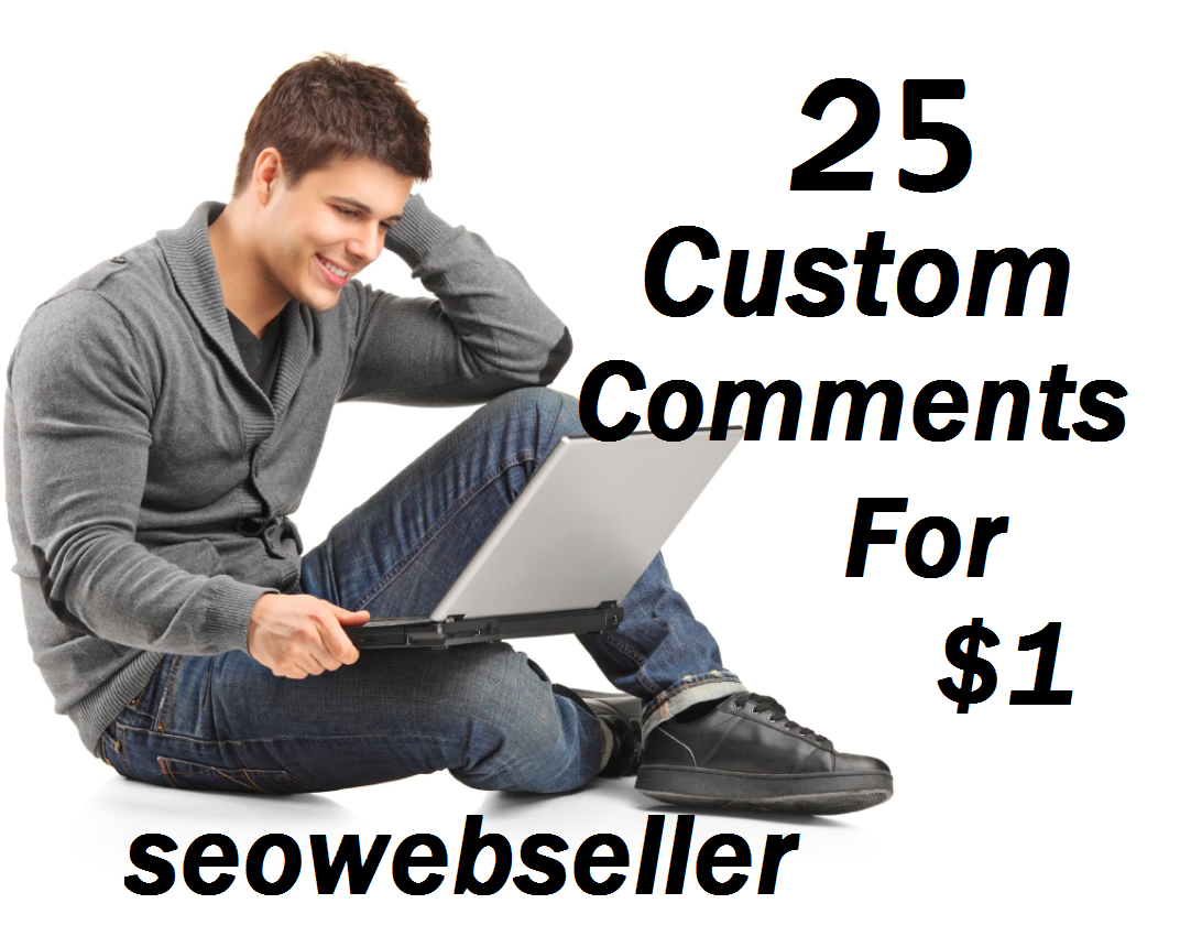 25+ youtube custom comment + Bonus 25 youtube likes Nondrop guaranteed 2-4 hours complete