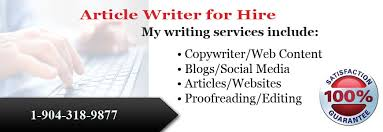 Write Any Article and Blogs