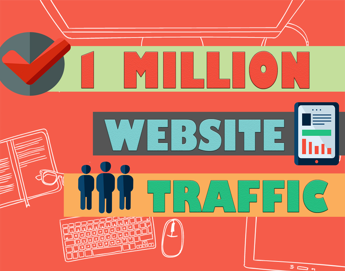 1 Million Website Traffic in 10 days