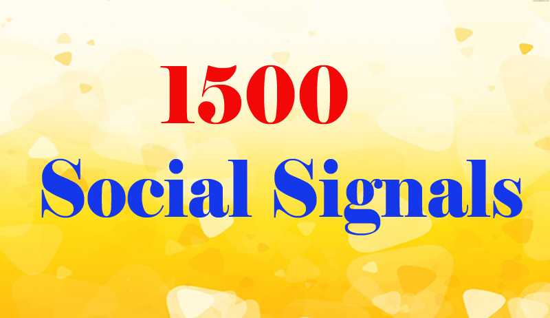 Hi-power 1500 best quality top social signals Boost your website