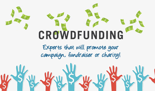 promote your Crowdfunding Fundraiser campaign